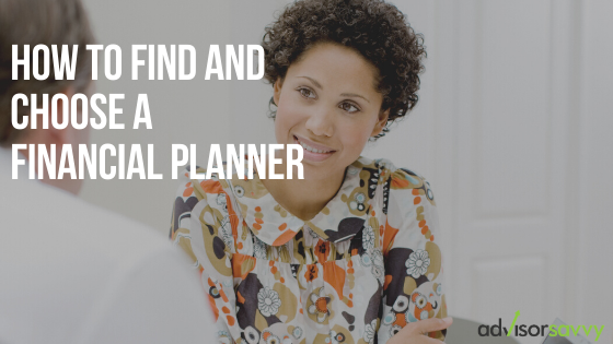 How to find and choose a financial planner Canada