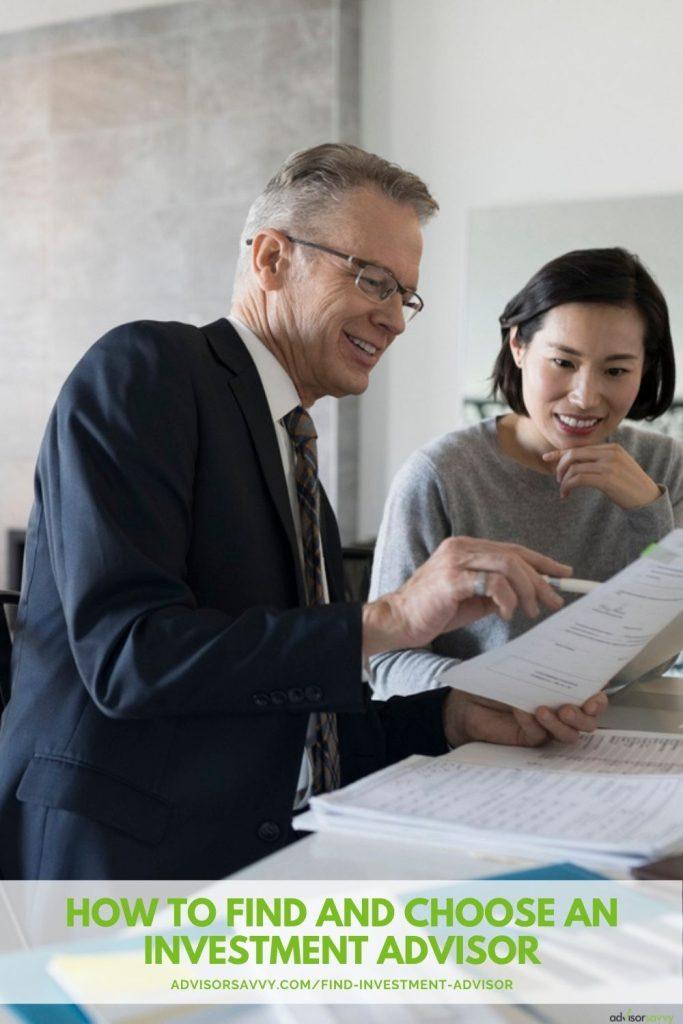 find investment advisor canada