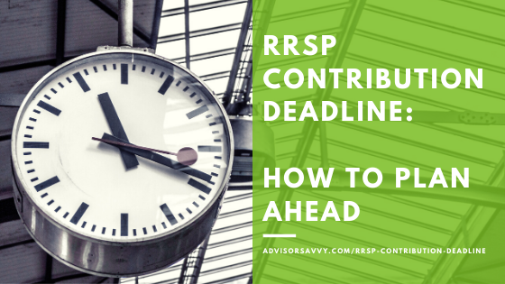 RRSP Deadline Canada