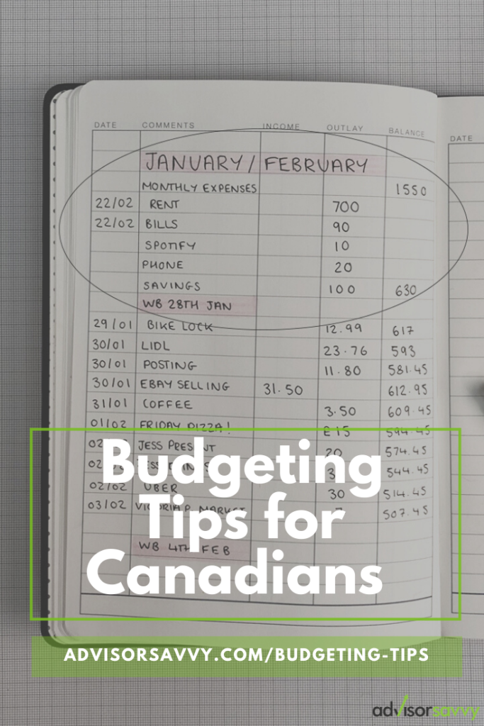 Budgeting Tips For Canadians