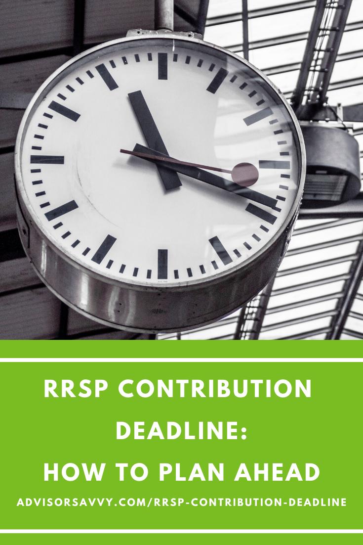 RRSP Contribution Deadline Canada