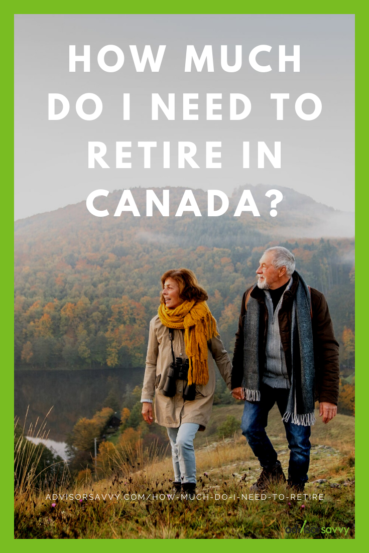 How much do I need to retire in Canada