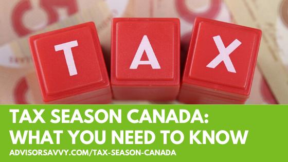 Tax Season Canada