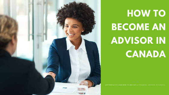How to become a financial advisor Canada