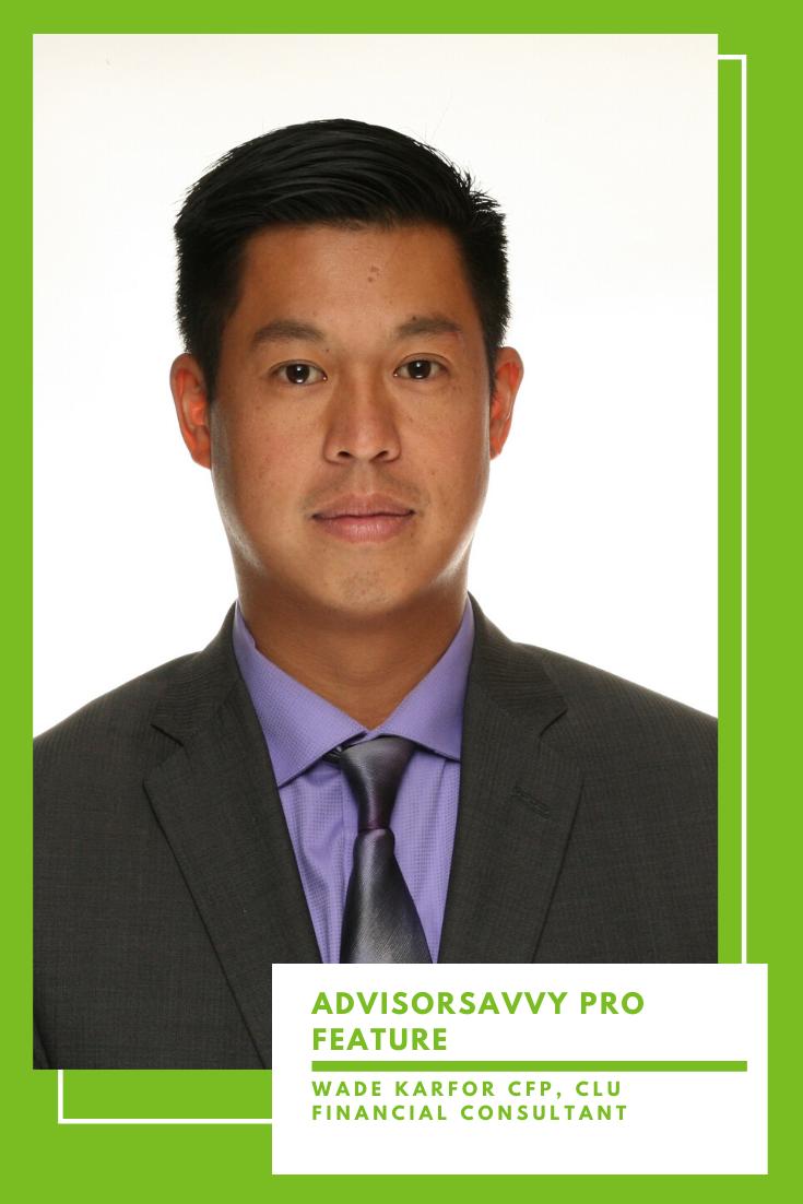 Wade Karfor Financial Planner Toronto