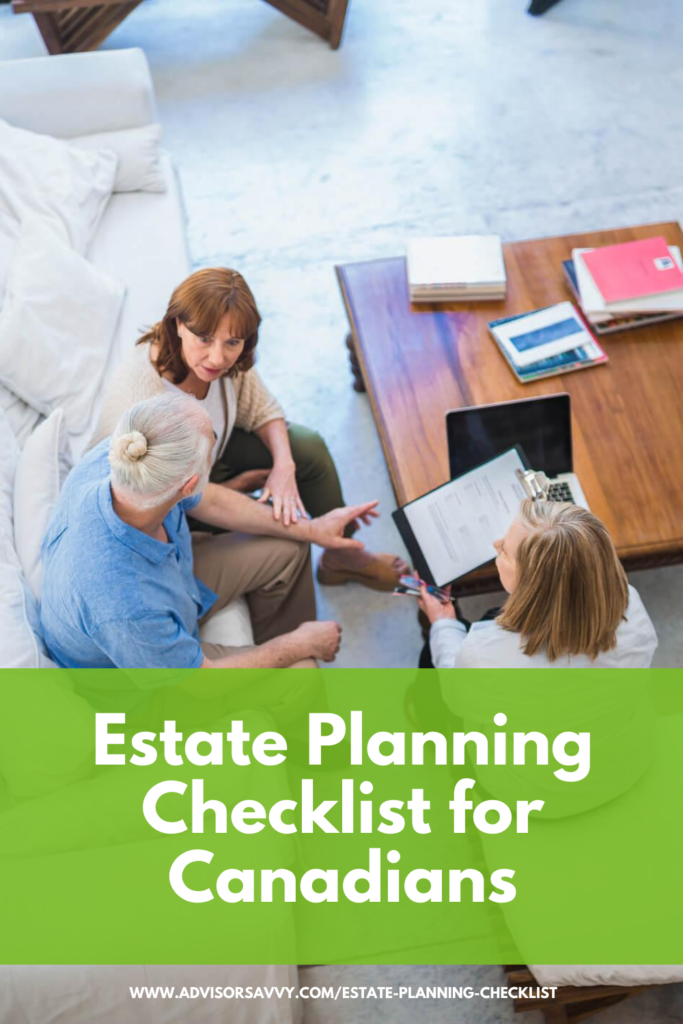 Estate Planning Checklist Canada