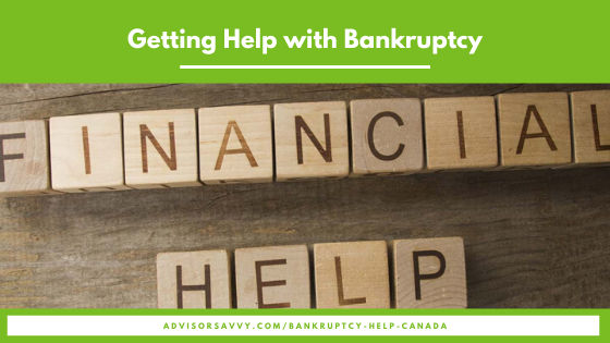Getting Help with Bankruptcy in Canada