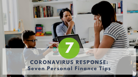 Coronavirus Personal Finance Tips Canada