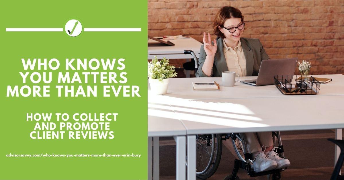 promote client reviews