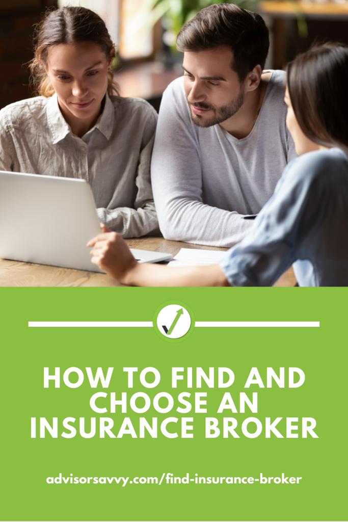 How to find an choose an insurance broker