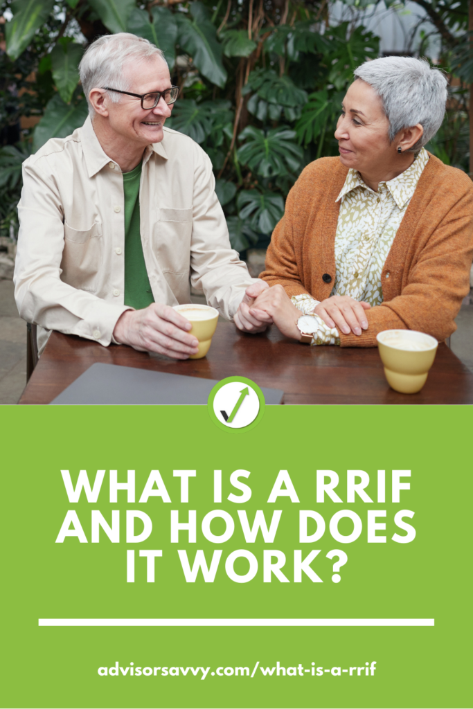 What is a RRIF and how does it work in Canada?