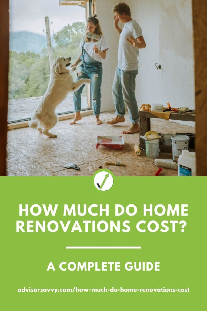 How much do home renovations costs? A complete guide