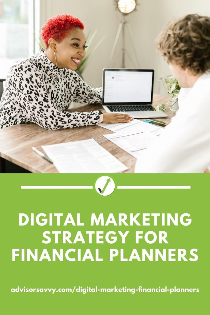 Digital Marketing Strategy For Financial Planners
